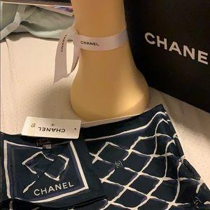 """Authentic Chanel brand new bandanna cc allover 24"""""""